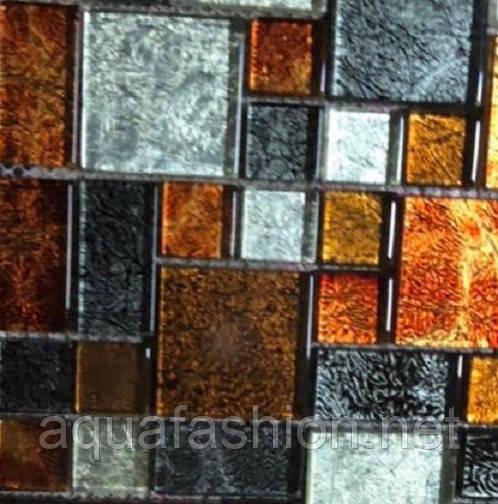 Декоративна мозаїка для ванної Vivacer RM01 суміш кольорів