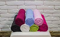 Махровое полотенце с греческим бордюром 70х140 см.