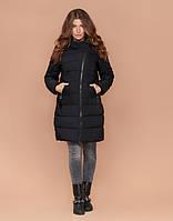 Braggart Simply 1908 | Длинная зимняя куртка женская черная