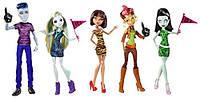 """Набір ляльок Монстер Хай Студрада Слоу Мо Лагуна Клео Гільда Скара(Monster High""""We Are Monster High)"""