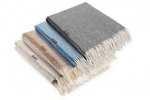 Плед шерстяной Wool Lille ТМ Идея 140х200, фото 2
