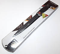 Кухонный Ребристый Металлический Разделочный Нож Proffessional, фото 1