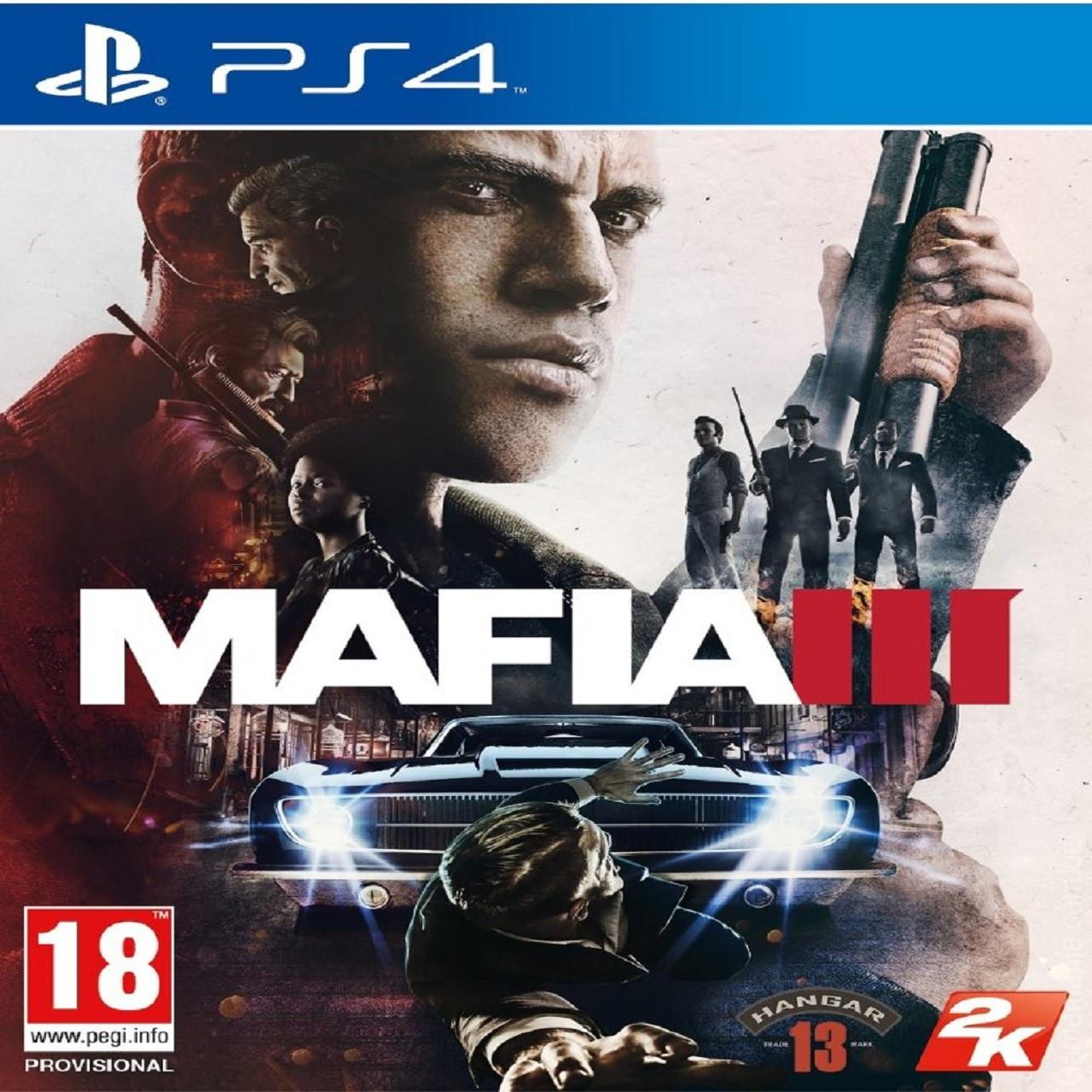 Mafia III PS4 RUS PS4 (Б/В)