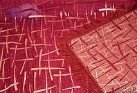 Полуторное покрывало Бамбук 150х200. Цвет-бордо