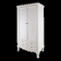 Шкаф белый двухдверный Альматея