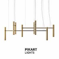 Подвесной светильник PikArt Tube chandelier 5299