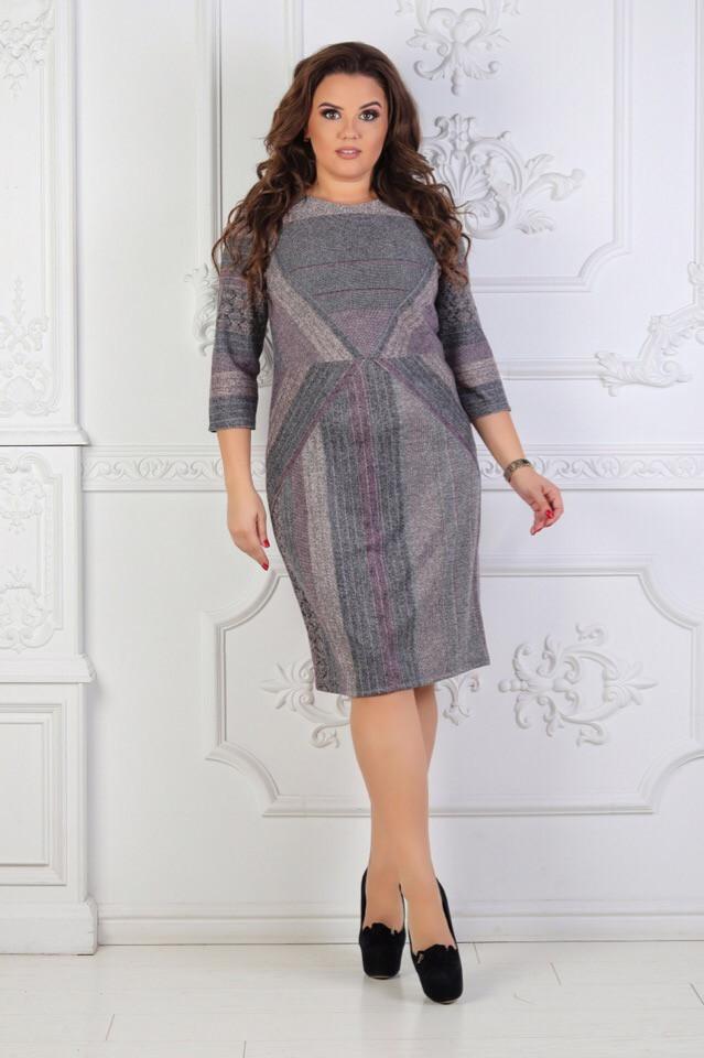 Платье женское большого размера  52.54.56.58