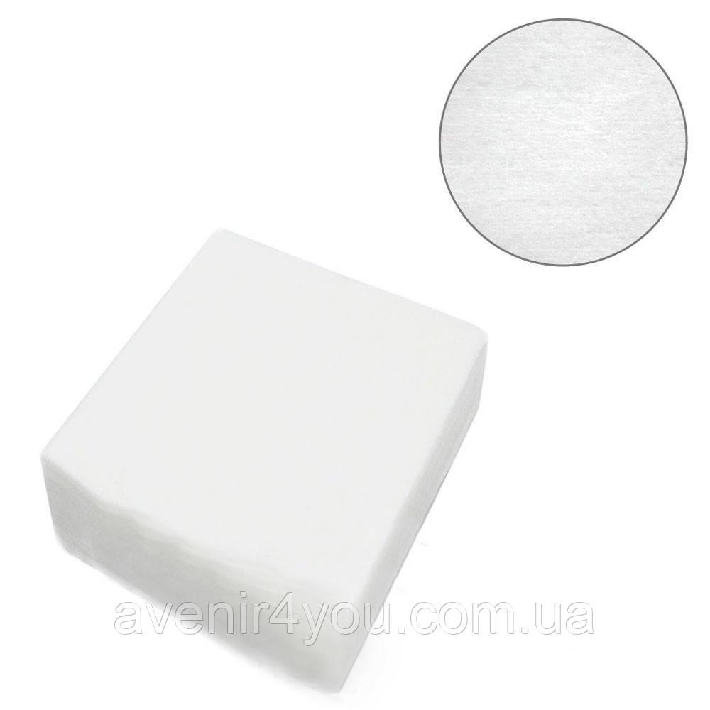 Салфетки одноразовые 10х10 см Нарезные Гладкие (100 шт) Белые