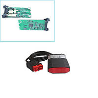Сканер Delphi DS150E A+ Делфи (одноплатный) аналог Autocom CDP+, Bluetooth до 30 м