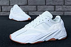 "Мужские кроссовки Adidas Yeezy Boost 700 ""Wave Runner"" White (в стиле Адидас Изи Буст 700) белые, фото 2"