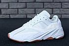"Мужские кроссовки Adidas Yeezy Boost 700 ""Wave Runner"" White (в стиле Адидас Изи Буст 700) белые, фото 4"