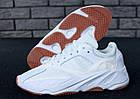 "Мужские кроссовки Adidas Yeezy Boost 700 ""Wave Runner"" White (в стиле Адидас Изи Буст 700) белые, фото 6"