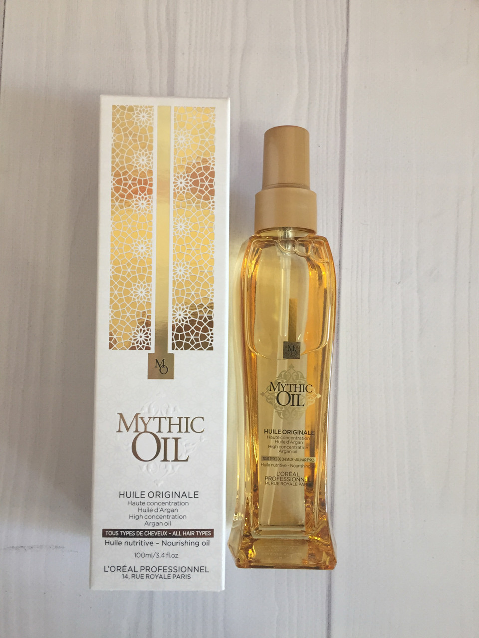 Питательное масло для волос. L'Oreal Professionnel Mythic Oil Original Oil 100 мл для всех типов волос