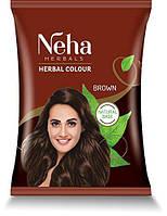 NEHA HENNA (Неха Хена) коричнева індійська фарба хна для волосся.