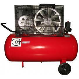 Компрессор поршневой с ременным приводом, Vрес=100л, 350л/мин, 380V, 2,2кВт AB100/360/380-СНГ, фото 2