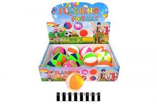М'яч -пострибунчик з світ. ефект. (коробка 12 шт.) SL658 р.30х24х8 см. /360/