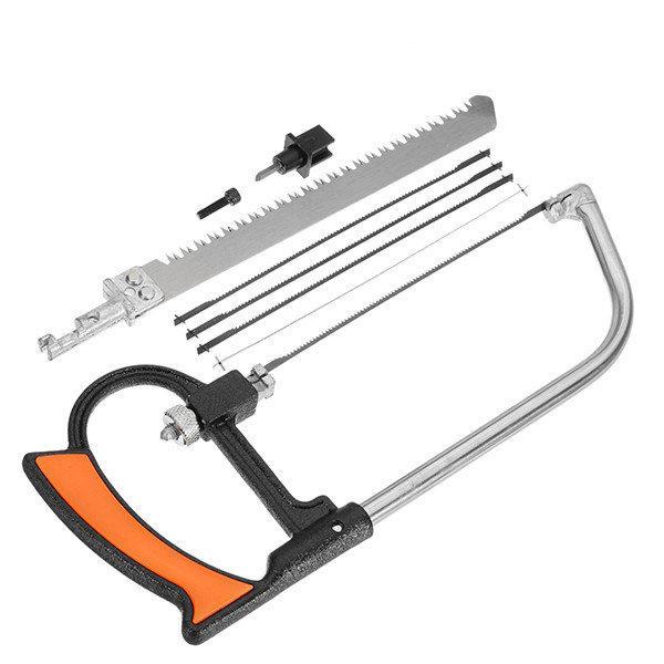 Многофункциональный набор от компании HILDA 7 в 1 пила, ножевка, лобзик
