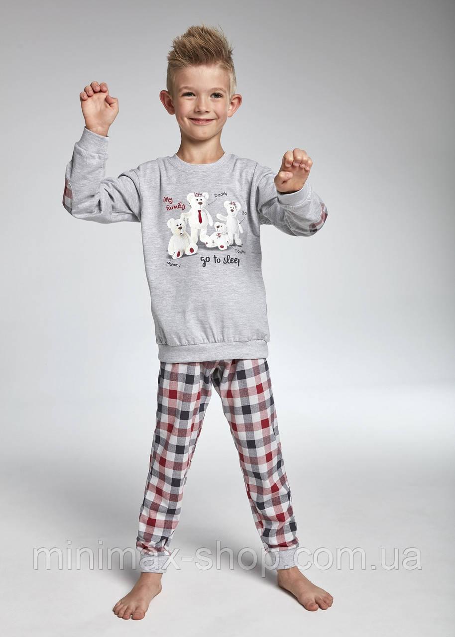 Пижама подростковая хлопковая MY FAMILY 175/83 CORNETTE Польша 2018