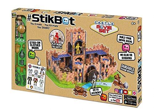 Игровой набор для анимационного творчества Stikbot Замок