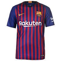 Футбольная форма Барселона домашняя взрослая 2018-2019 (Реплика)