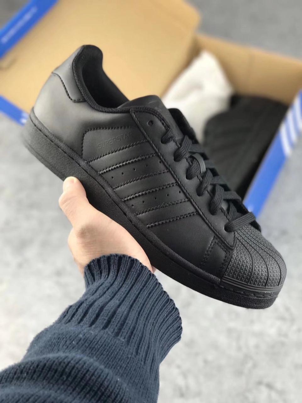 fba01861288b0c Кроссовки Adidas Superstar Black, цена 1 299 грн., купить в Киеве ...