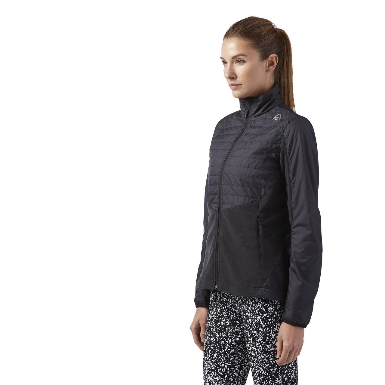 Женская куртка Reebok Outdoor Combed Fleece (Артикул: BR0520)