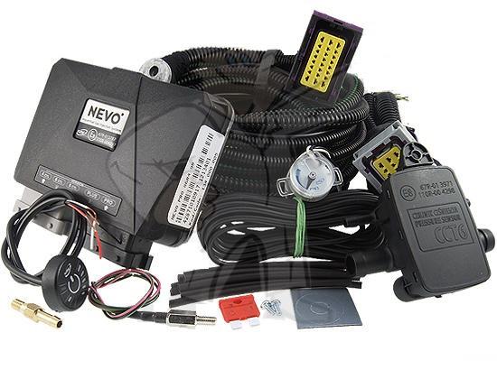 Электроника ГБО KME NEVO PRO 4 цил с переключателем RGB PW3