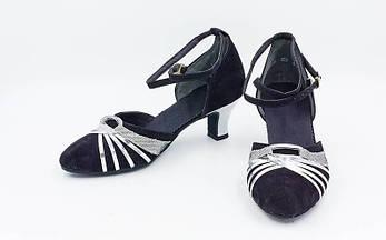 Обувь для танца (латина женская, закрытый носок) размер 36 D201 OF, фото 2