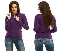 Гольф женский кашемир 283 (42/46 универсал) (цвет фиолетовый) СП