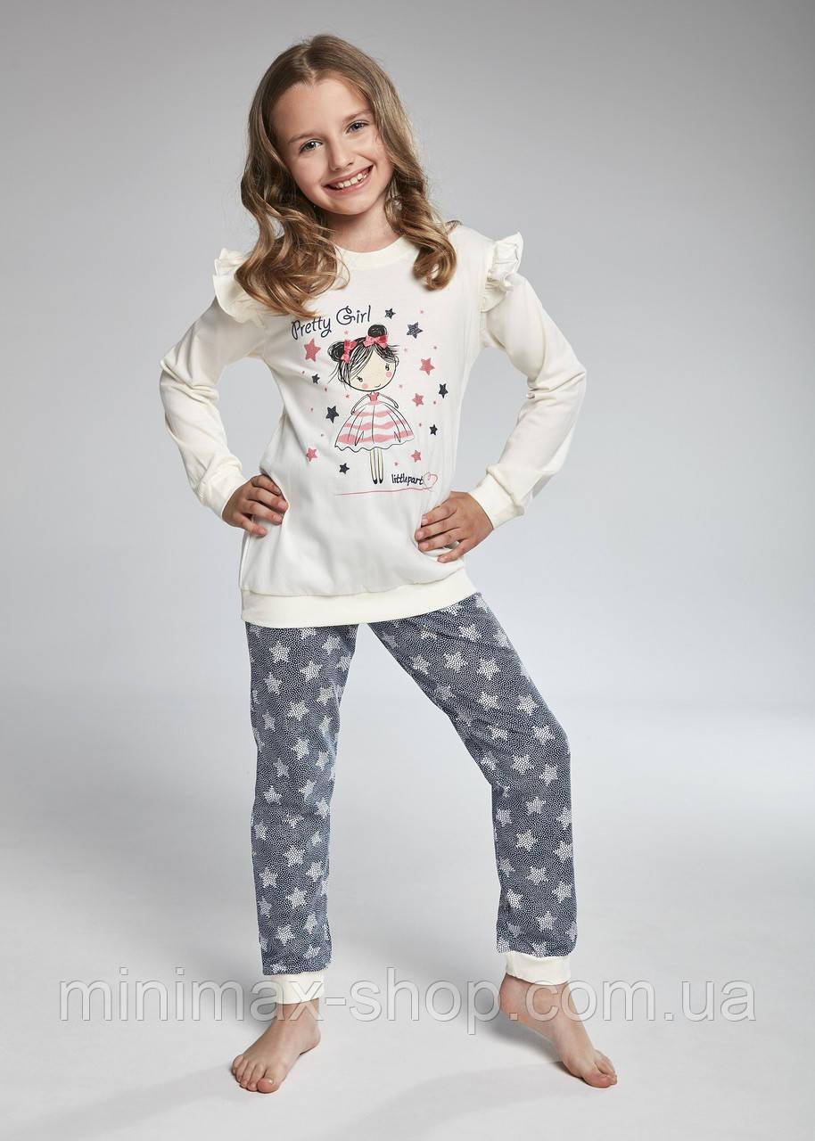Пижама детская хлопковая PRETTY GIRL 040/90 CORNETTE Польша 2018