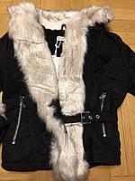 Куртка на меху для девочек оптом, Grace, 8-16 лет., арт. G82014, фото 3