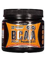 Аминокиcлоты BCAA 2:1:1 вкус, 500г PROFIPROT Киви