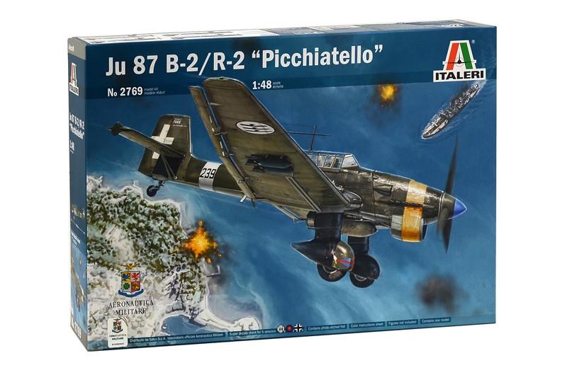 """JU 87 B-2/R-2 """"PICCHIATELLO"""". 1/48 ITALERI 2769"""