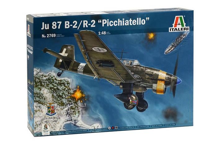 """JU 87 B-2/R-2 """"PICCHIATELLO"""". 1/48 ITALERI 2769, фото 2"""