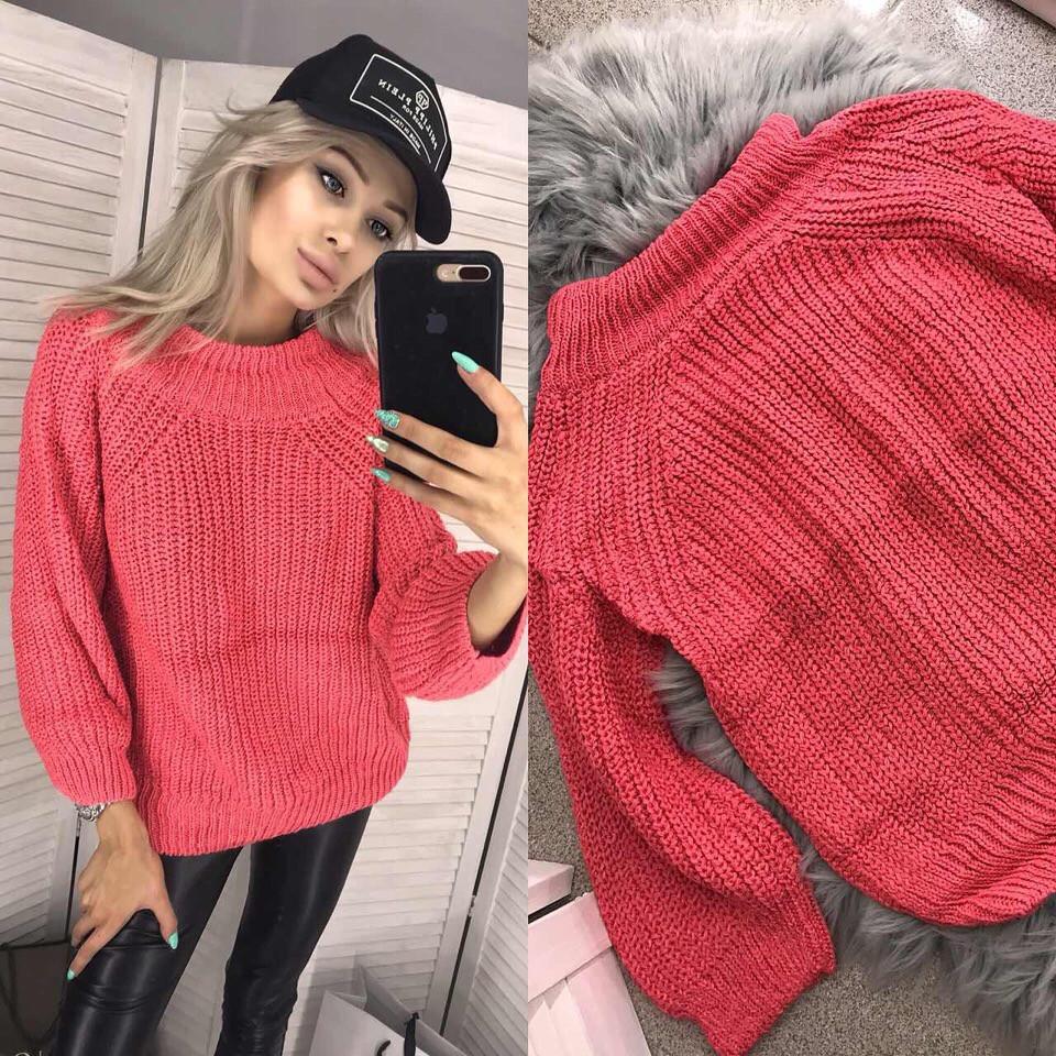 faa0920f09a Женский свитер крупной вязки - купить по лучшей цене в Одессе от ...