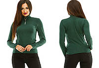 Гольф женский кашемир 283 (42/46 универсал) (цвет зеленый) СП