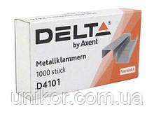 Скобы для степлера № 10 (1000 шт). Delta by Axent