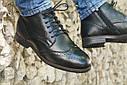 Ботинки кожаные мужские осенние, фото 3