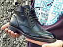 Ботинки кожаные мужские осенние, фото 5