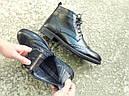 Ботинки кожаные мужские осенние, фото 2