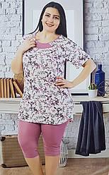 Женский комплект для домашнего отдыха с бриджами