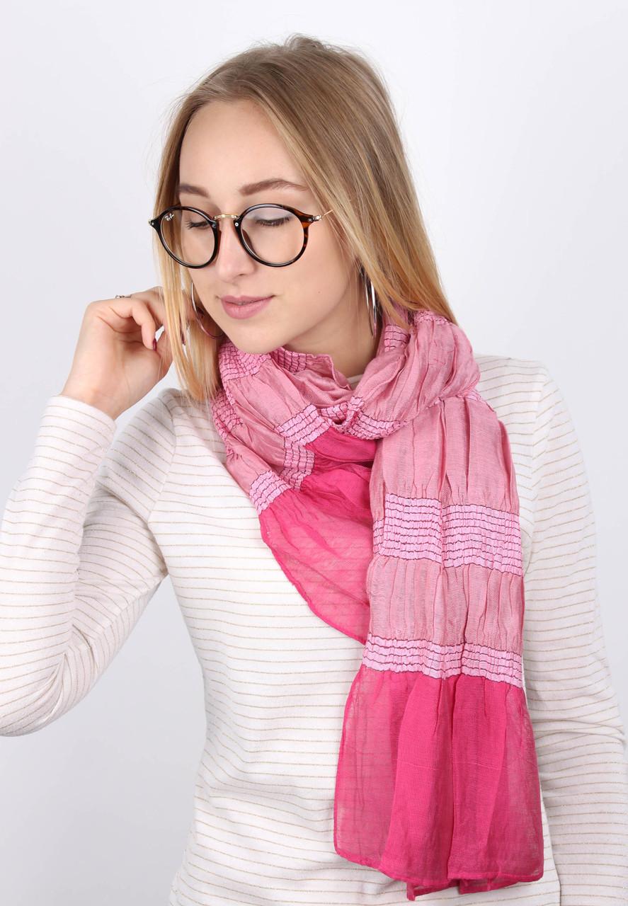 Шарф Мунго розовый