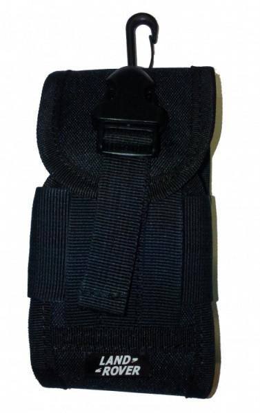 Чохол-сумка Land Rover універсальний з карабіном чорний