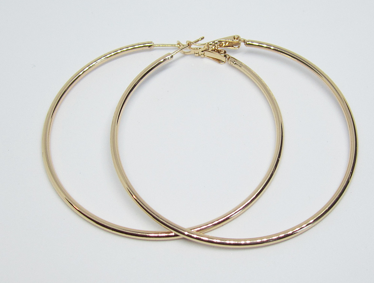 Серьги кольца Xuping Диаметр-6 см