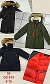 Куртка на меху для мальчиков Setty Koop оптом, 6-16 лет.