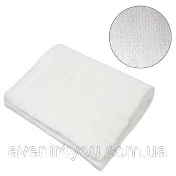 Полотенце одноразовое 40х70см (50 шт) Сетка Нарезное Белое