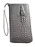 Портмоне мужское Baellery Alligator Черное (BA12001212)