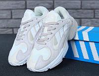 Женские кроссовки Adidas Yung-1 White 36, фото 1