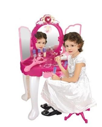 Салон красоты 008-18 пульт, МР3, с стульчиком, феном, расческой, бусами