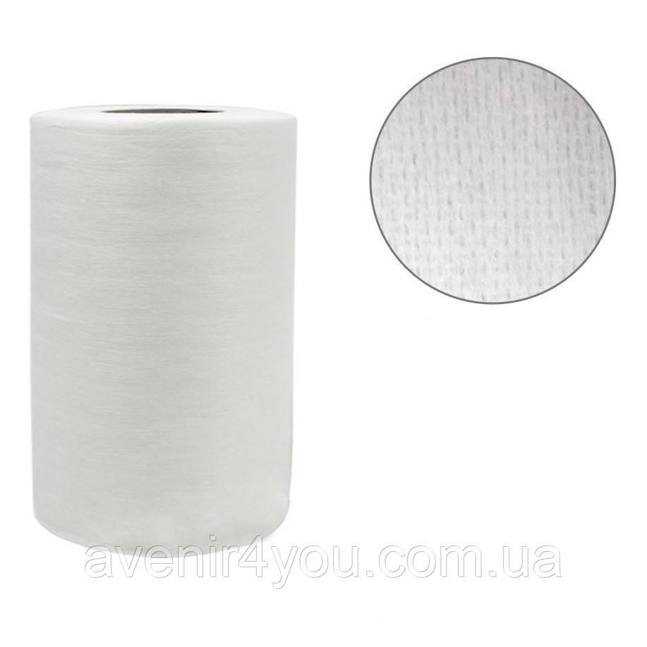 Салфетки одноразовые 30х40см (100 шт) Сетка В рулоне Белые